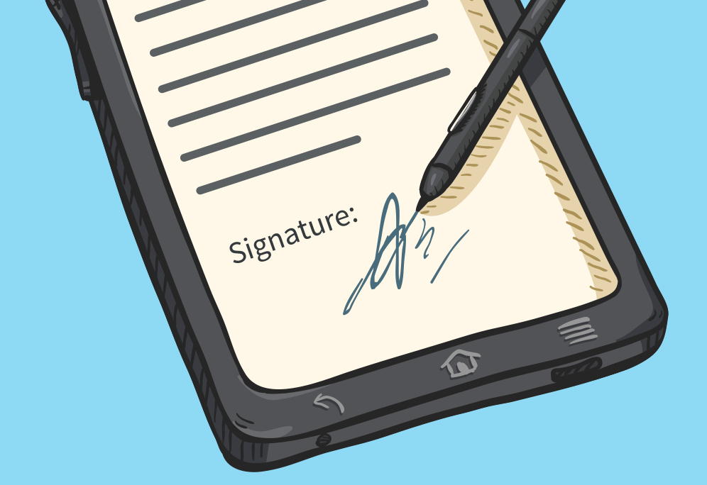 Signing online: e-signatures explained