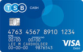 Cash Account debit card