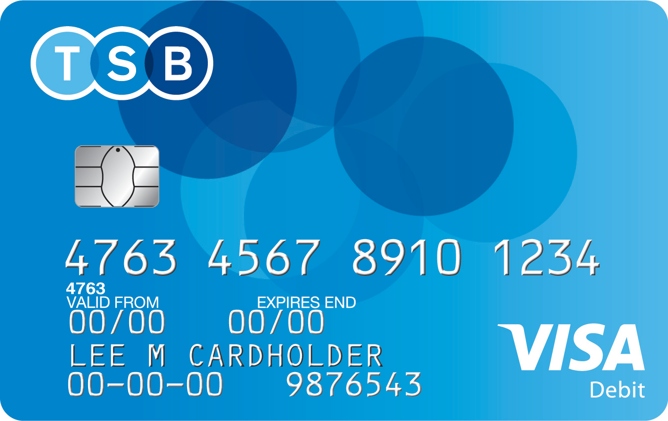 Silver Account debit card